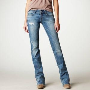 American Eagle Blue Denim Original Bootcut Jeans